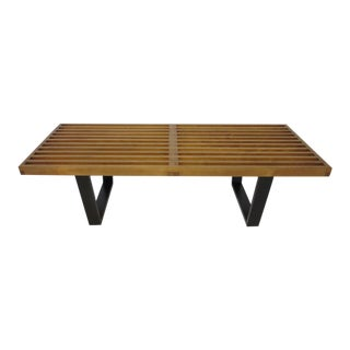 Herman Miller Slat Bench / Coffee Table by George Nelson For Sale