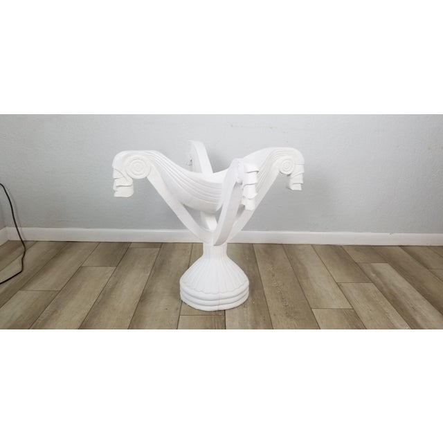 Grosfeld House Carved Wood Draped Dining Table Base . For Sale - Image 12 of 12