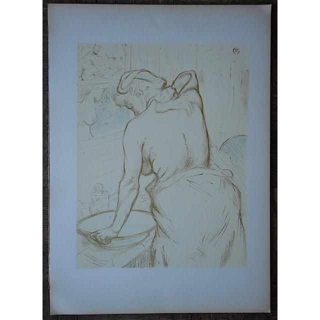 """Vintage Lithograph """"Elles [Women]"""" by Lautrec - Image 3 of 3"""