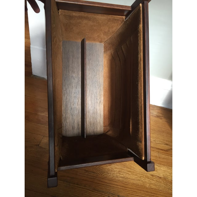 Danish Rosewood & Leather Magazine Rack - Image 8 of 11