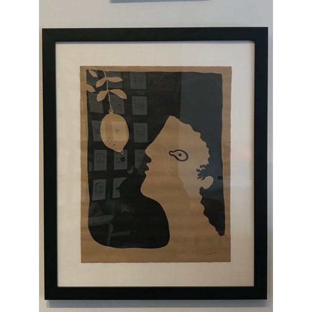 "R. F. Alvarez ""Man"" Contemporary Painting For Sale - Image 4 of 4"