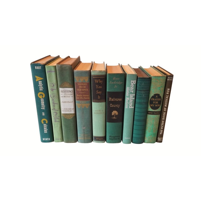 Green Distressed Books - Set of 10 - Image 3 of 4