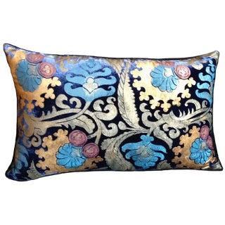 Masolino Silk Velvet Pillow For Sale