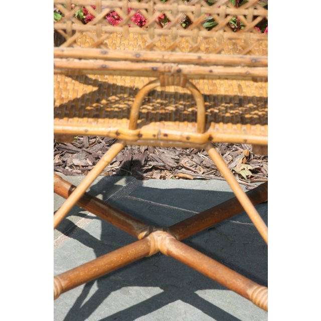 Early 20th Century Early 20th Century Antique Children's Cane Chair For Sale - Image 5 of 10