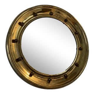 Mid-Century Convex Pier Wall Mirror For Sale