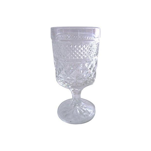 1950s Pressed Cocktail Glasses - Set of 6 - Image 3 of 3