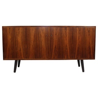 Danish Rosewood Credenza by Hundevad