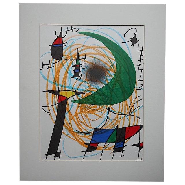 Vintage Ltd. Ed. Joan Miro Lithograph - Image 1 of 4