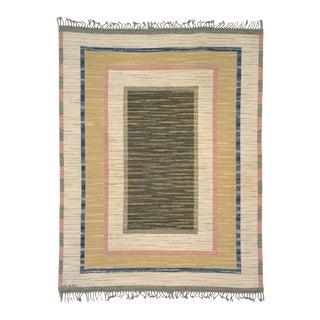 Swedish Flat Weave Rug by AB Märta Måås-Fjetterström- 7′3″ × 9′8″ For Sale