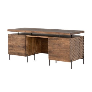 Mid-Century Modern Erdos + Ko Raffles Desk For Sale