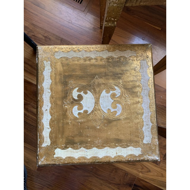 1940s French Nesting Tables - Set of 3 For Sale In Raleigh - Image 6 of 11