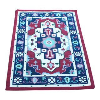 "Late 19th Century Vintage Southwest Geometric Rug 5'11"" x 4'2"" For Sale"