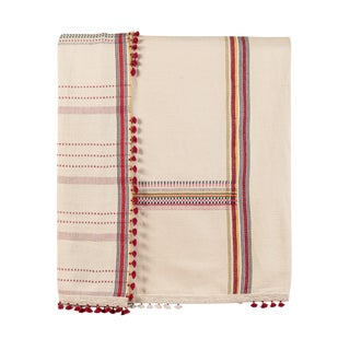 "*Injiri ""Real India"" Organic Cotton Bedcover or Throw."
