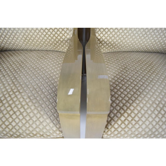 Modern J. Robert Scott Salon Deco Lounge Chairs by Sally Sirkin Lewis- Set of 8 For Sale - Image 3 of 10
