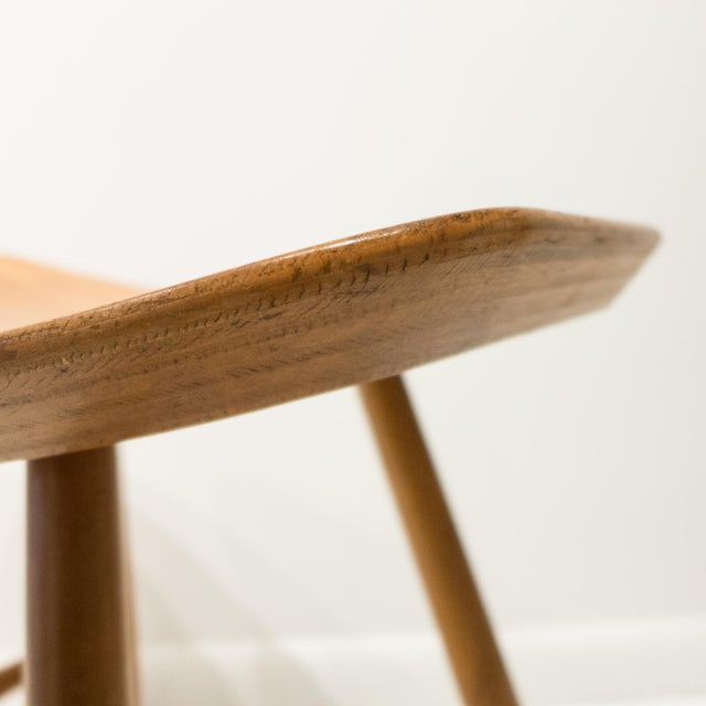 Brown Ejvind Johansson Stool for FDB Mobler For Sale - Image 8 of 10