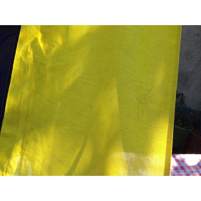 Vintage Sailing Signal Flag For Sale - Image 10 of 11