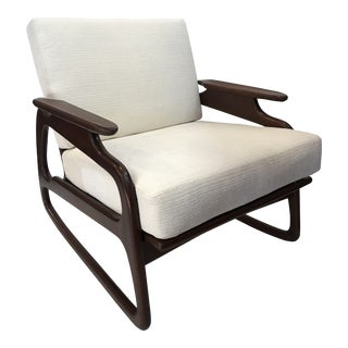 Adrian Pearsall Danish Mid-Century Modern Rocking Chair For Sale