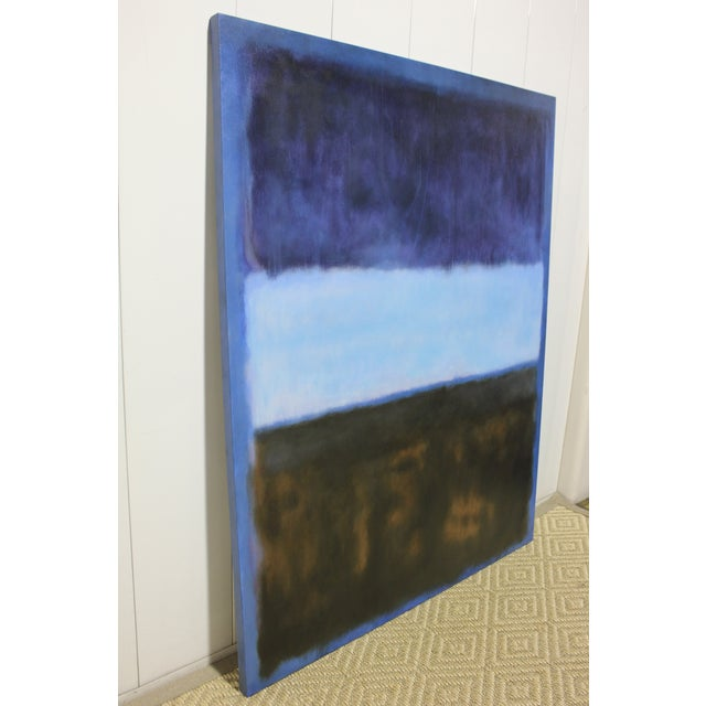 Mark Rothko inspired painting. The piece was made contemporarily.