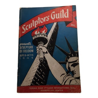 Sculpture of Freedom, 1942 Sculptors Guild NY Catalog For Sale