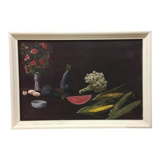 Painting - Still Life Painting on Canvas