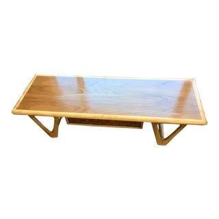 Vintage Lane Mid-Century Danish Modern Coffee Table with Drawer For Sale