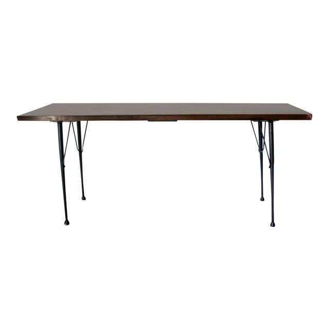 Mid-Century Patina Console Table, Rehab Original - Image 1 of 6