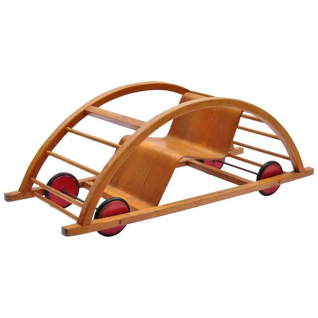 Child Swing Cart, Germany, 1956 For Sale In Boston - Image 6 of 6