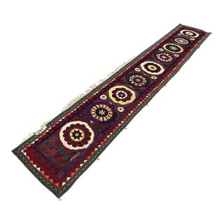 1964 Antique Suzani Table Runner