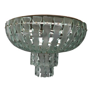Quattrozero Manufacture Glass Chandelier Italy For Sale