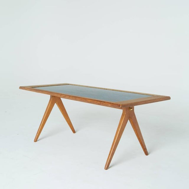 1955 Stig Lindberg & David Rosen Enamel Coffee Table For Sale In Los Angeles - Image 6 of 7