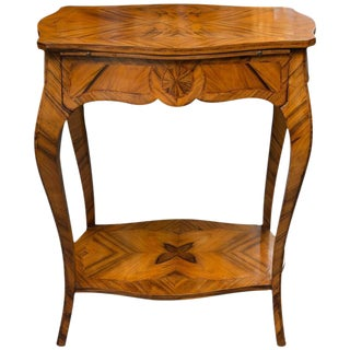 19th Century, Louis XV Style Kingwood Two-Tier Occasional Table For Sale