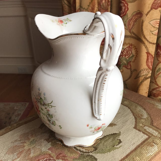 Vintage Flower Vase Pitcher - Image 5 of 10