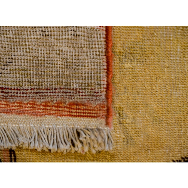 Early 20th Century Pictorial Khotan Rug For Sale - Image 10 of 11