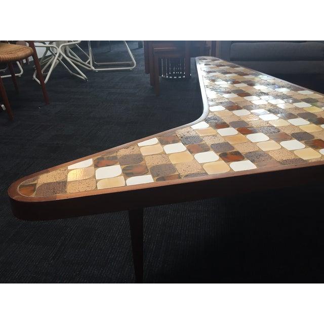 Richard Hohenberg Boomerang Mosaic Tile Table - Image 4 of 4