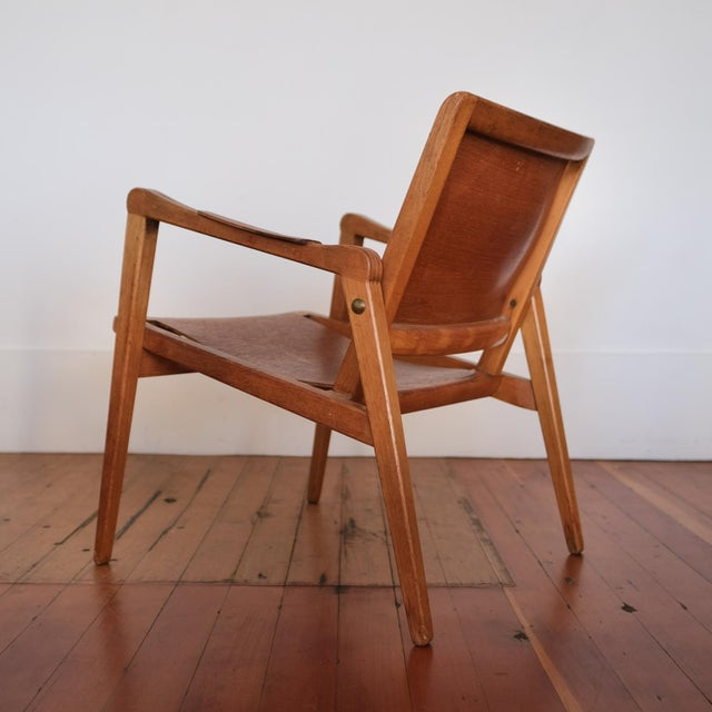 Axel Larsson Lounge Chair, Sweden, 1948 For Sale - Image 12 of 13