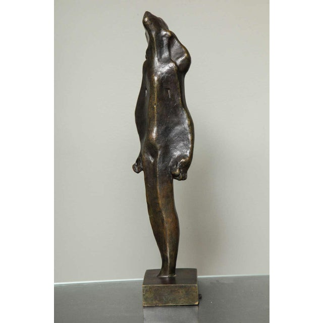 """L'Esperance"" Cubist Bronze by Joseph Csaky For Sale - Image 9 of 9"