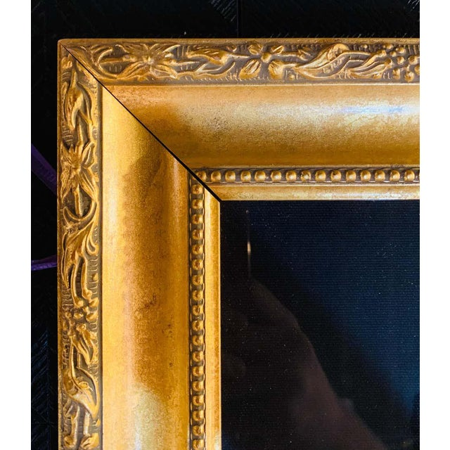 """Red Itzchak Tarkay Stereograph in Matted Gilt Frame """"Enchanted Moments"""" For Sale - Image 8 of 11"""