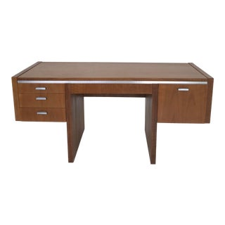 1970s Mid-Century Modern Founders Writing Desk For Sale