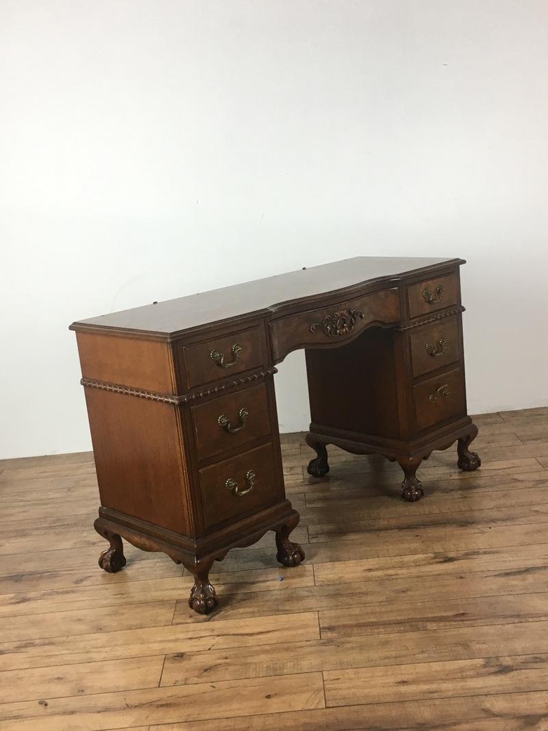 Mahogany Home Library Office: Antique Mahogany Writing Desk
