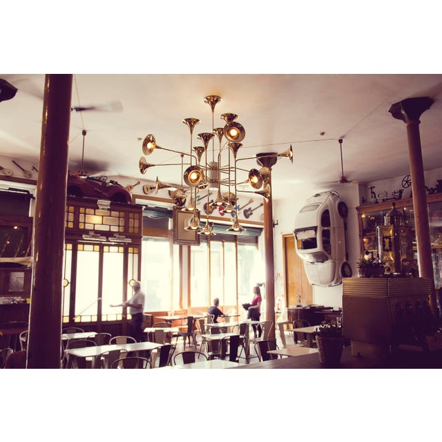 Brass Botti 150 Chandelier From Covet Paris For Sale - Image 7 of 13