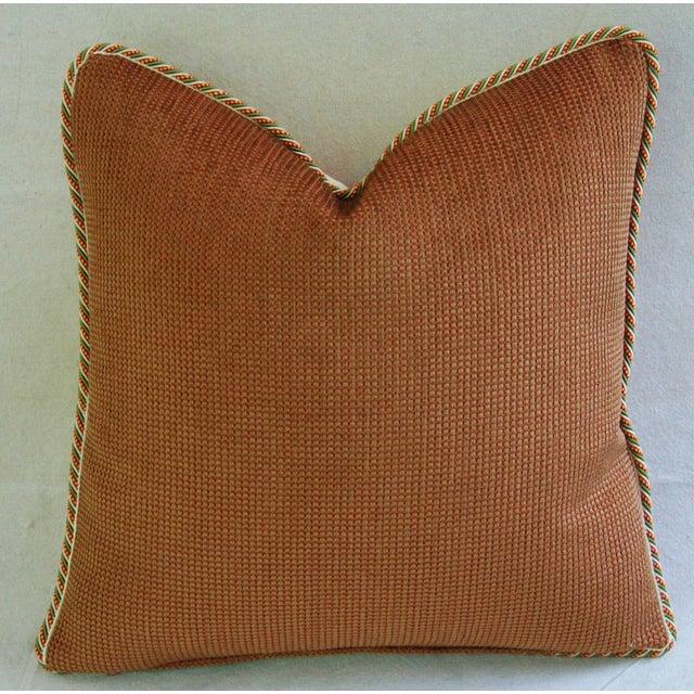 Custom Schumacher Kelmscott Manor Pillows - A Pair - Image 9 of 11