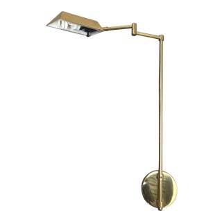 Mid 20th Century Vintage Mid-Century Brass Sconce For Sale