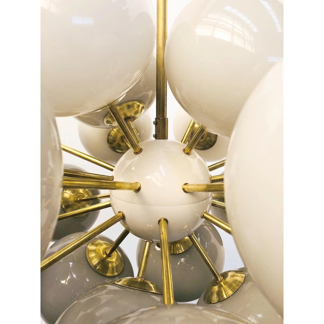 Not Yet Made - Made To Order Ovale Sputnik Chandelier by Fabio Ltd For Sale - Image 5 of 12