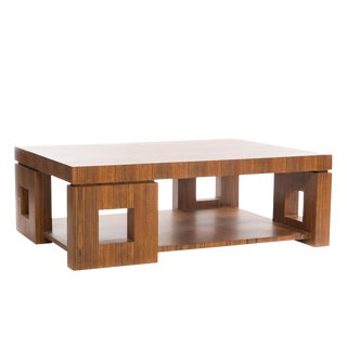 Modern Mason Cocktail Table For Sale