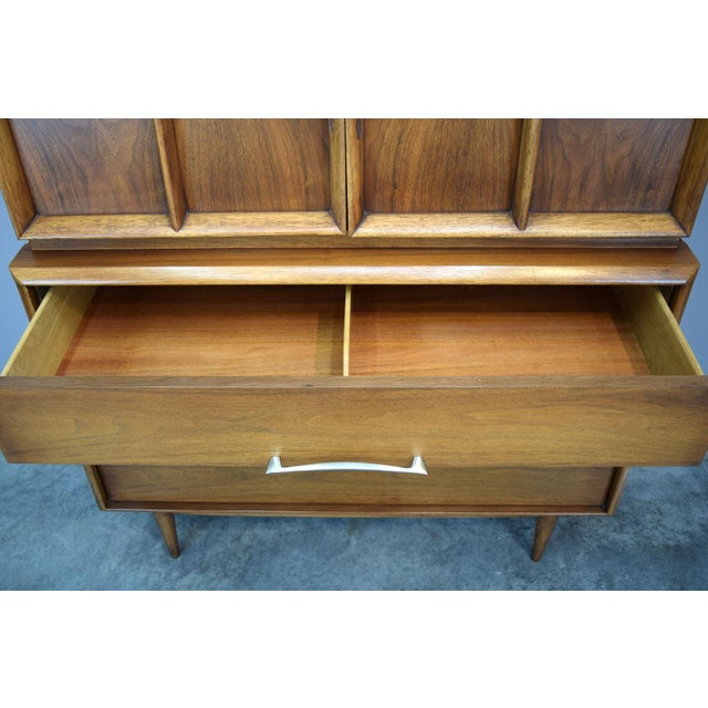 On Hold - Kent Coffey Walnut Highboy Dresser - Image 9 of 11