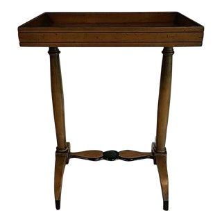 Beacon Hill Collection Biedermeier Tray Side Table For Sale