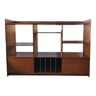 Teak Danish Bookshelf For Sale