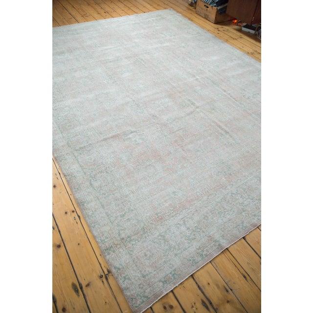 "Distressed Oushak Carpet - 9' X 12'1"" - Image 3 of 10"