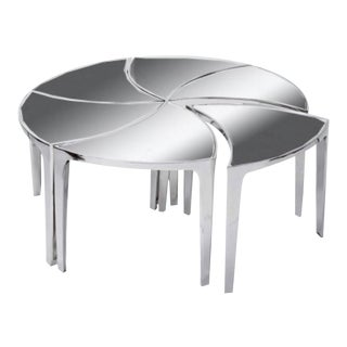 Regina Andrews Wunderlust Pivot Cocktail Table