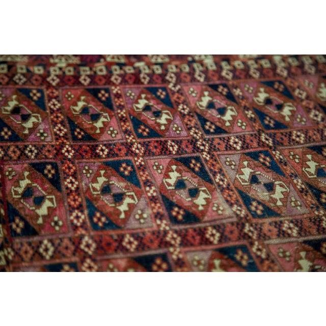 """Antique Turkmen Square Rug - 2'8"""" X 3'1"""" - Image 9 of 9"""